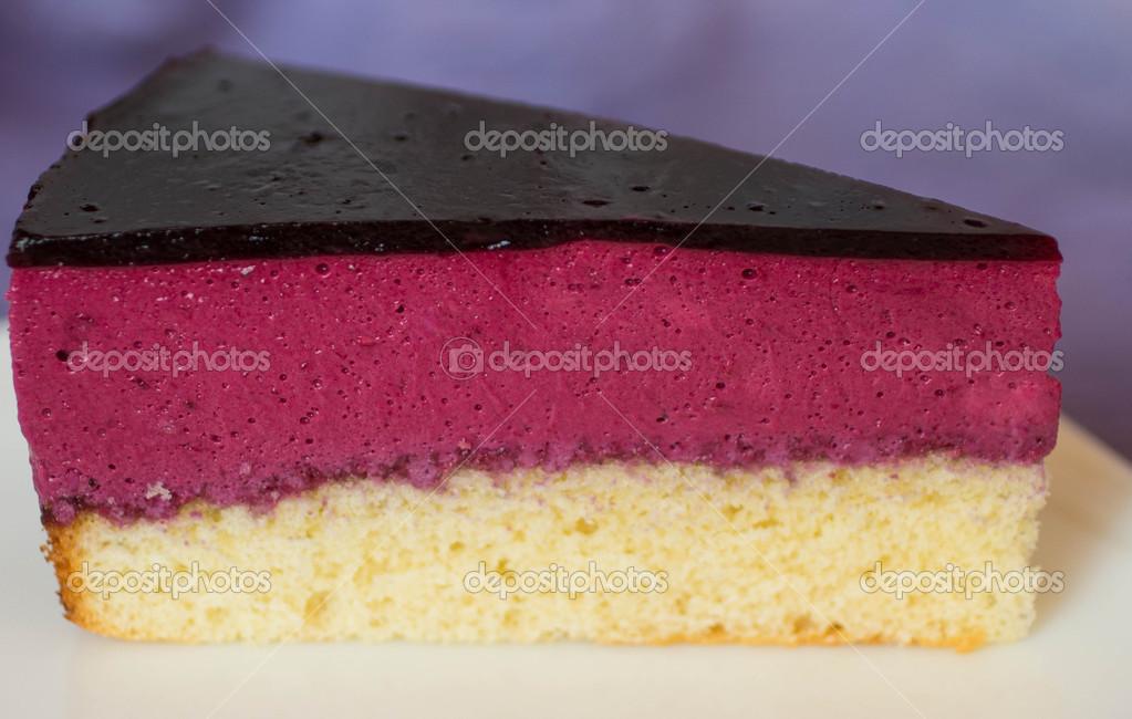 Souffle Kuchen Mit Schwarzen Johannisbeeren Stockfoto C La Vanda