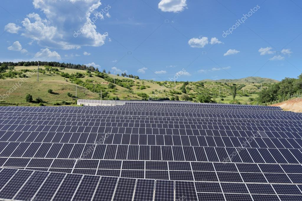 Solar photovoltaic cell panels