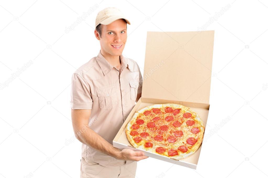 Повезло разносчику пиццы онлайн — pic 2