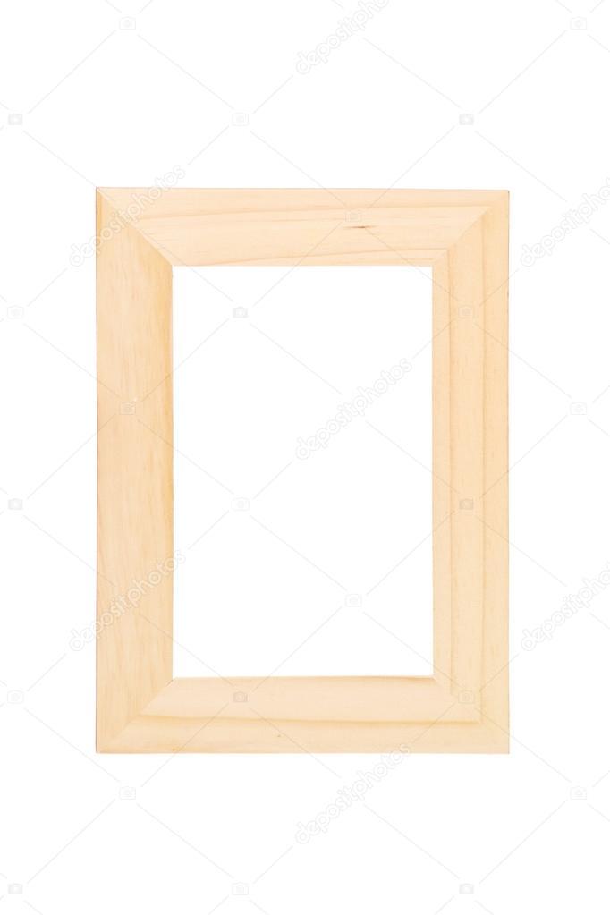 Bilderrahmen aus Holz — Stockfoto © ljsphotography #45863405