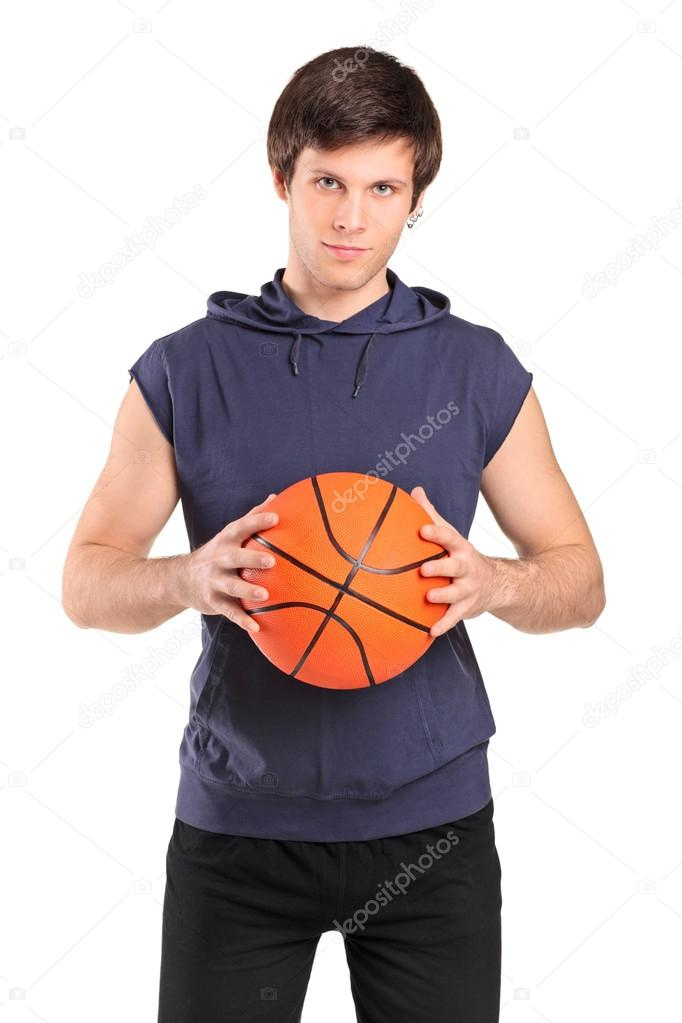 boy holding basketball stock photo ljsphotography 45869625