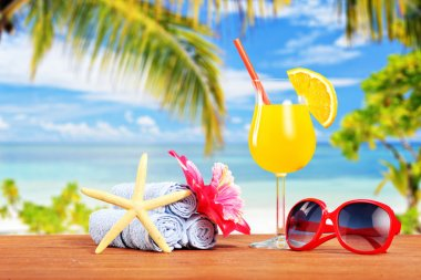 Cocktail and summer accessories