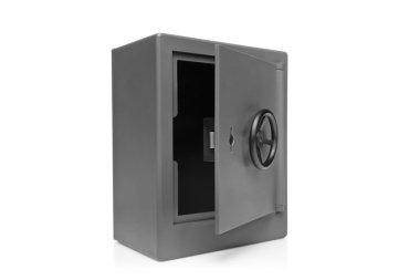 Empty safety deposit safe