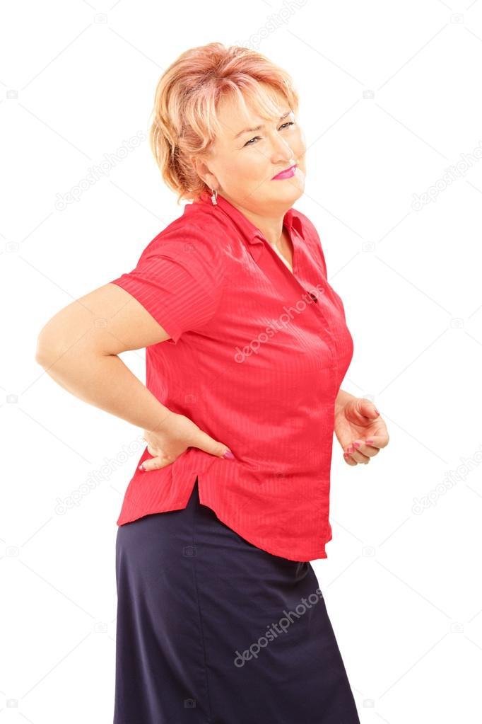 woman back Mature