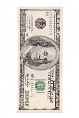 100 US dollar bill