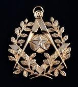 Fotografie freemasonry golden medal