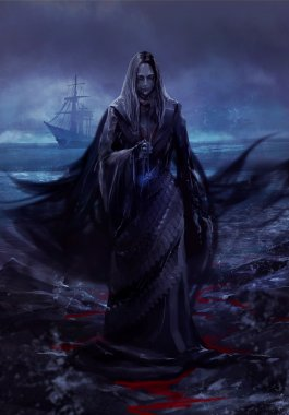 Ghost ship lady