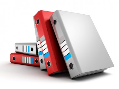 Office ring binder folders