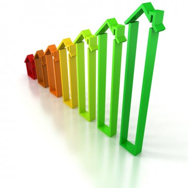 progress bar chart concept
