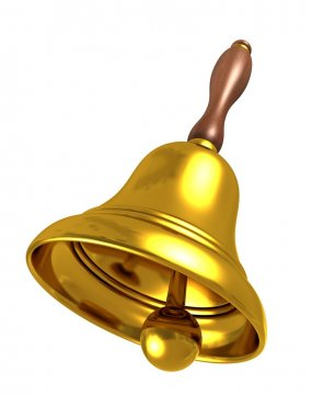 School golden bell