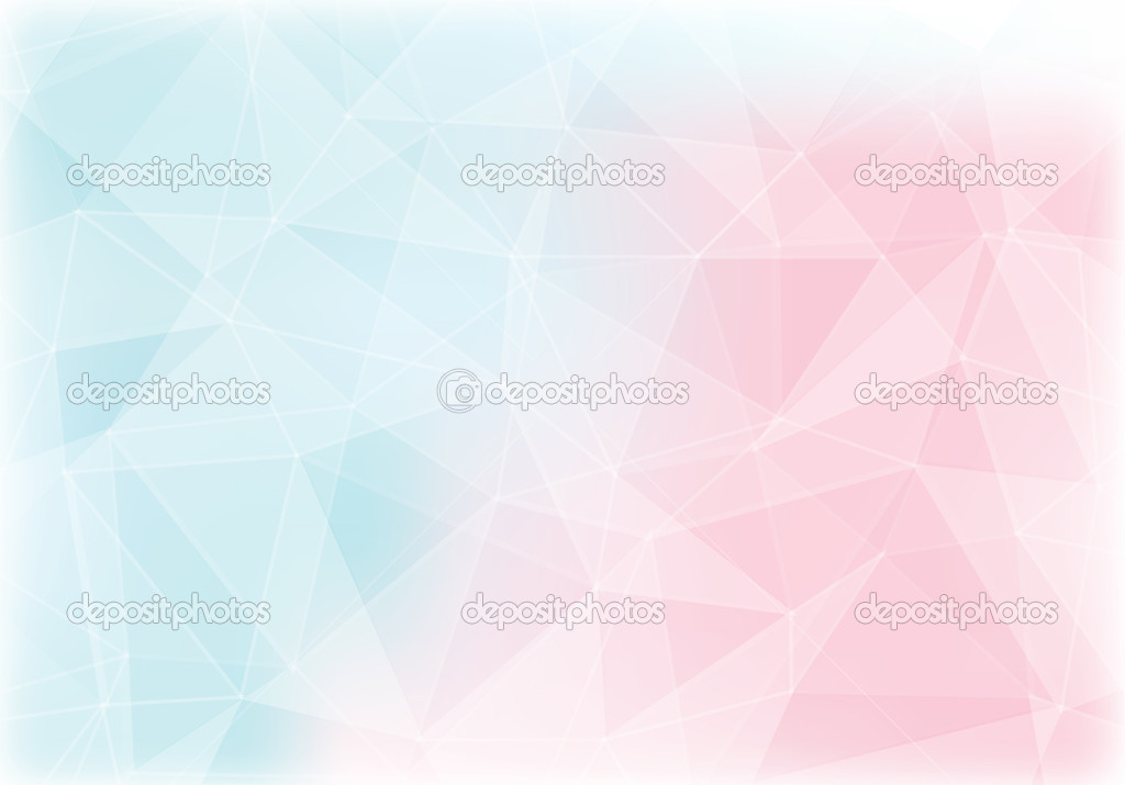 Purple Polygonal Abstract Background: Pink And Blue Polygon Abstract Background