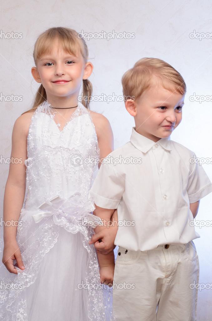 Spiel Hochzeit Stockfoto Petrushechkin 47455189