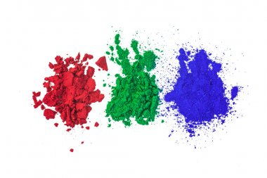 Red Green and Blue Colors