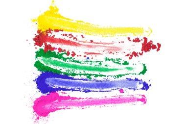 Smeared Color Spectrum