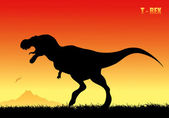Fotografia Tyrannosaurus rex