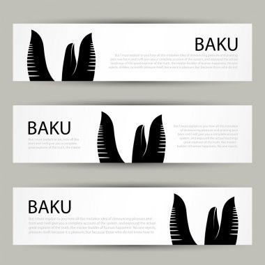 Baku banner