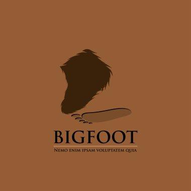 Bigfoot sign