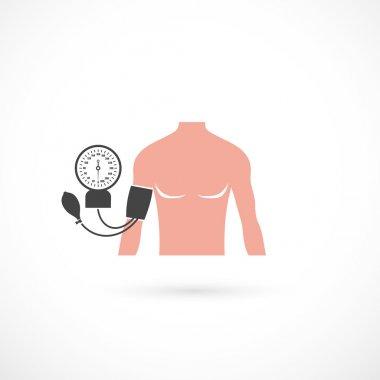 Blood pressure symbol