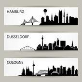 Fotografie Stadt Skyline Banner