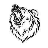 medvěd grizzly hlava