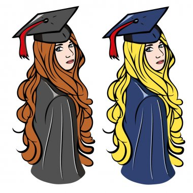 Graduation girls