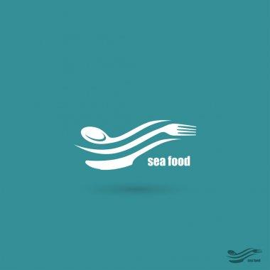 Sea food symbol