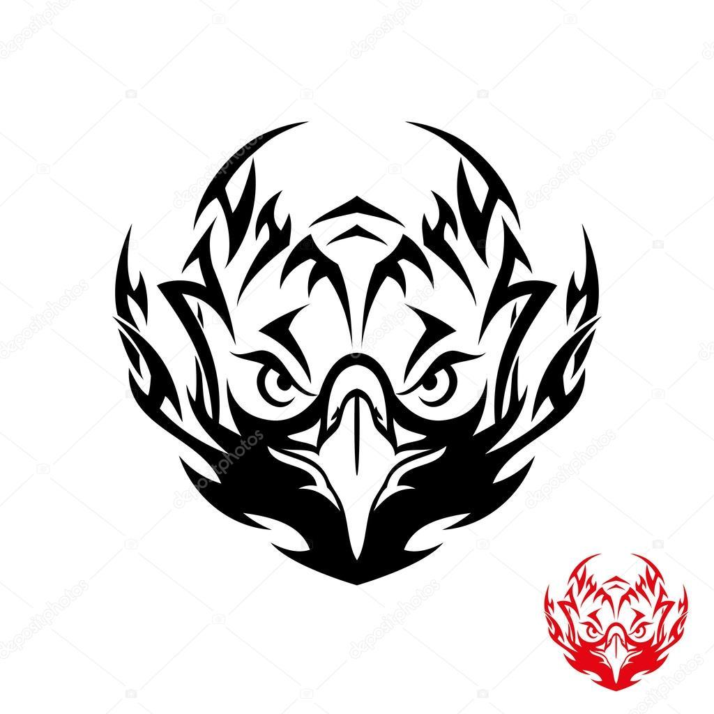 Images: tribal eagle tattoo | Tribal eagle tattoo — Stock