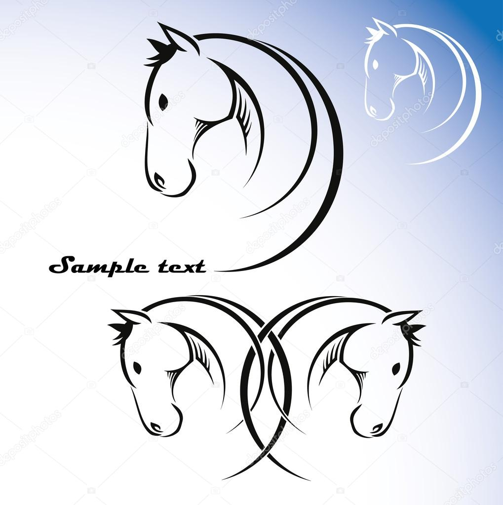 Horse symbol stock vector itrovic 46552447 horse symbol stock vector buycottarizona