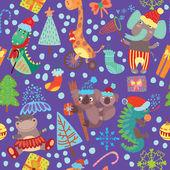 Fotografie Süße Weihnachten nahtlose Muster