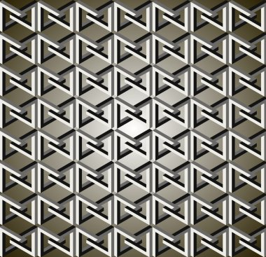 Flat patterns, abstract concept of geometrical shapes