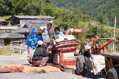 Farmers  work in rural areas