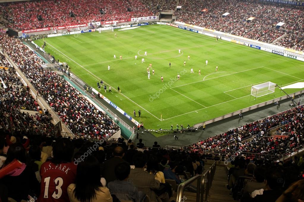 Sangam football Stadium during the game