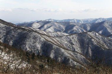Winter mountains Odaesan
