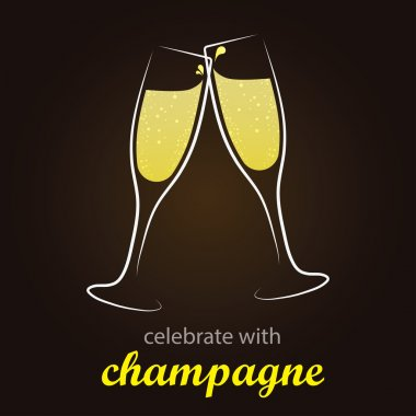 Champagne Toast - moment of celebration