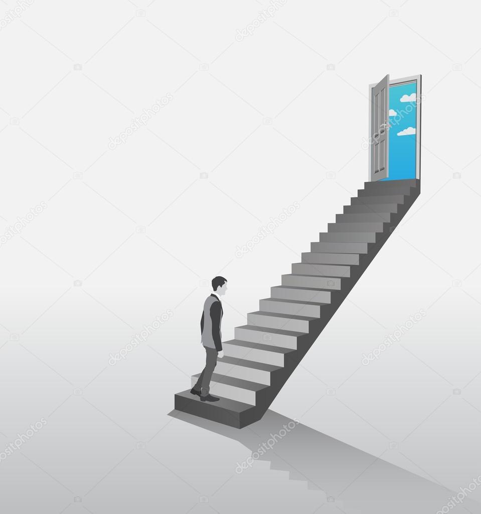 Идти вверх — превосходный знак будущего успеха и побед.