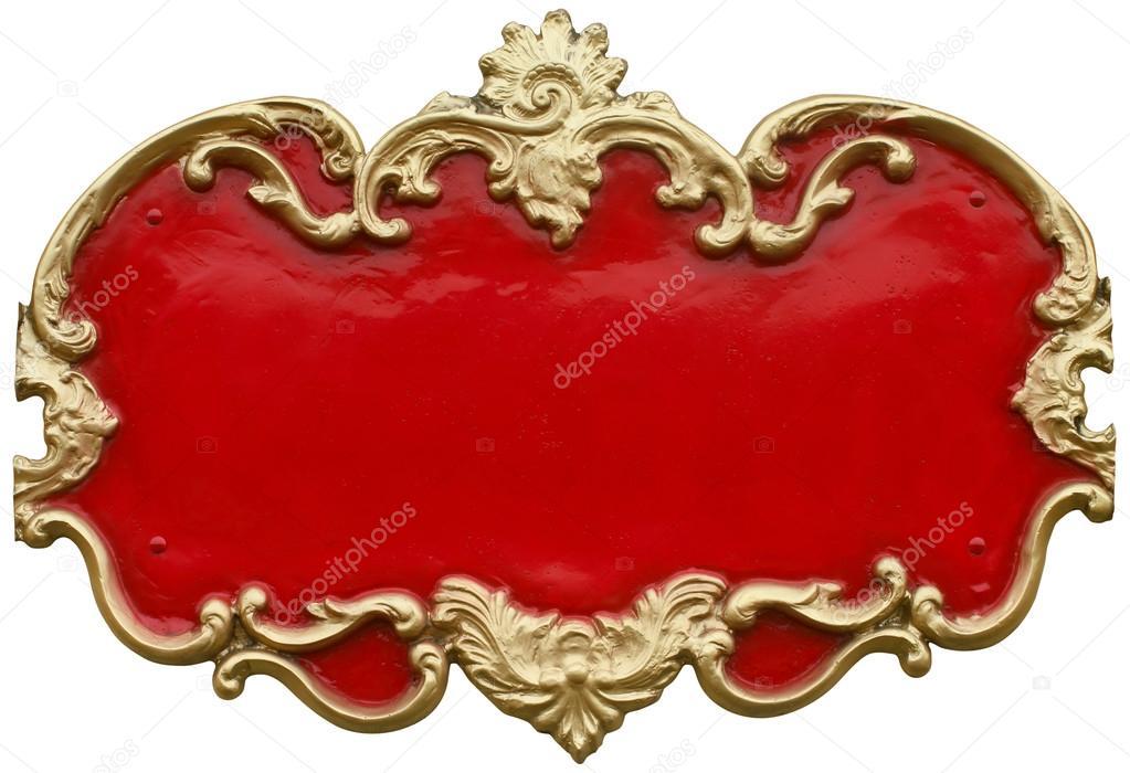 Suchen Sie billig Barock gold ornamentale Rahmen um eine knallig ...