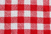 Red and white checkered pattern