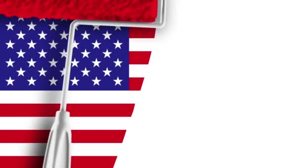 Festés zászló - Usa
