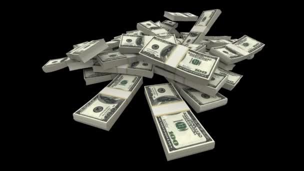 klesající dolarů balíčky - usd (s matný)