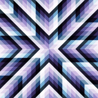 Abstract geometric vector background and place for text