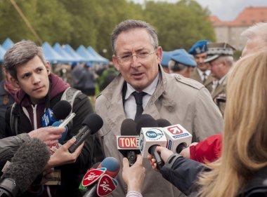 Bartlomiej Sienkiewicz, Polish Minister of Interior