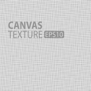 Canvas texture, vector illustration  for your design stock vector