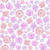 Fotografie květinový vzor bezešvé