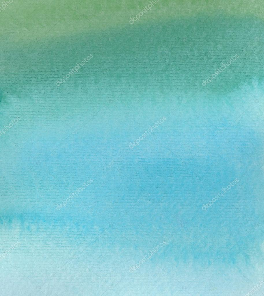 Wet Watercolor Ombre Background — Stock Photo © angiemakes ...
