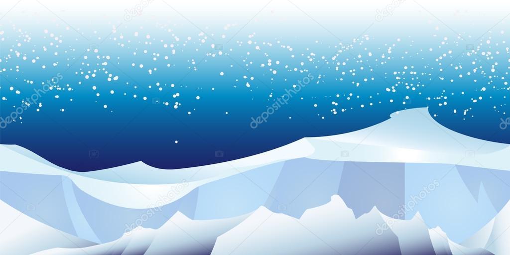 arctic landscape pattern