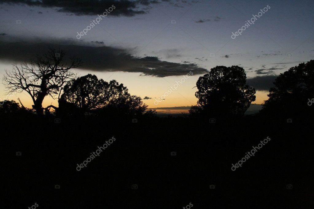 Sonnenuntergang Schatten
