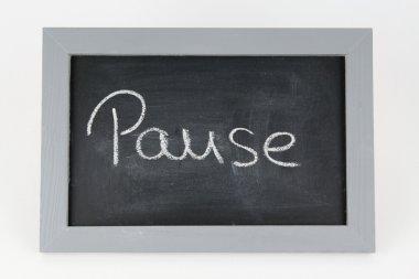 Tafel Pause