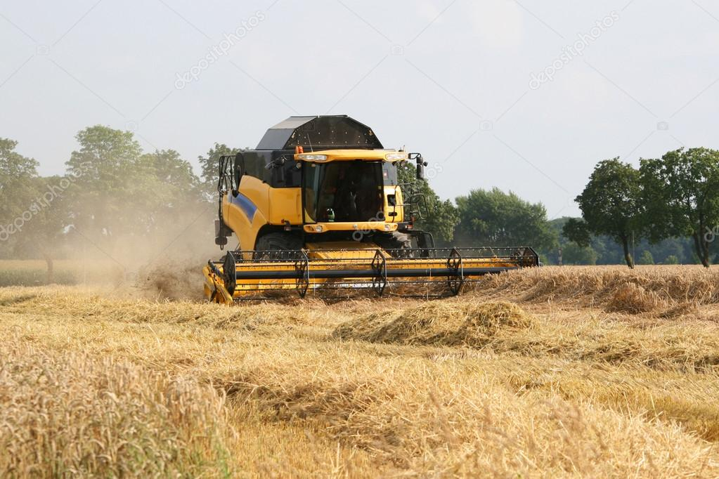 Wheat harvesting equipment - Combine Harvester