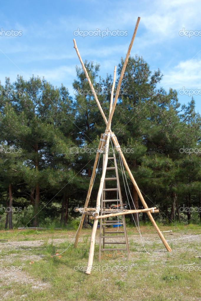 construction bois scout