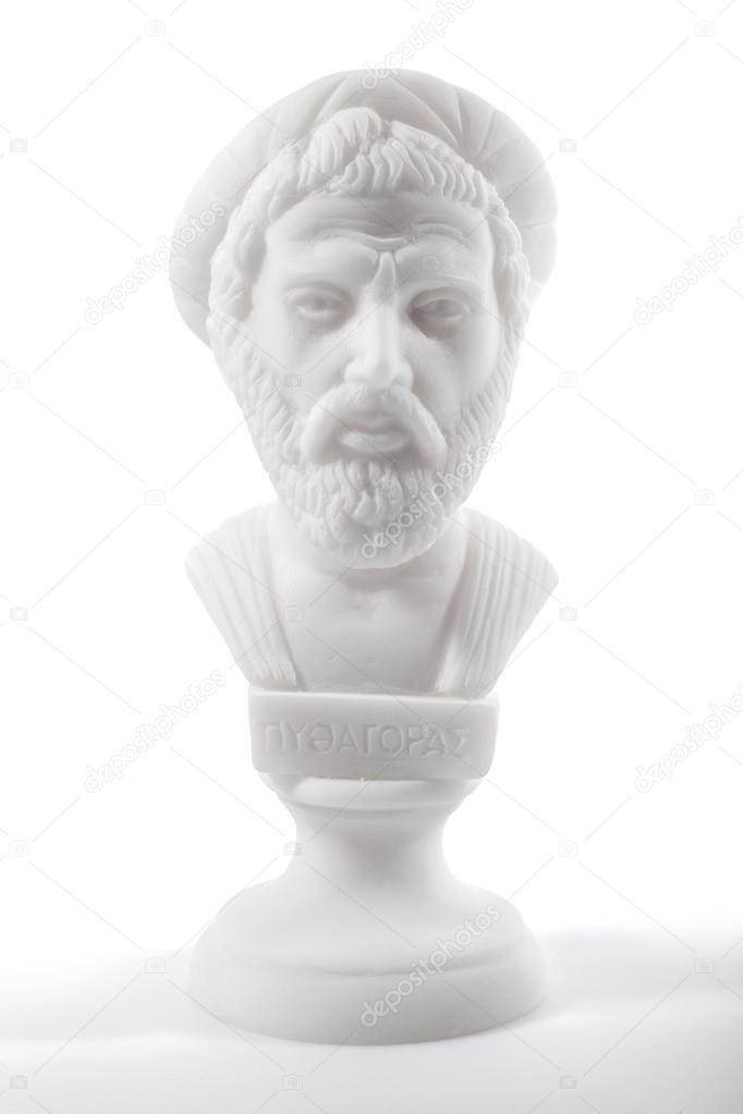 Ancient Greek philosophers — Stock Photo © blackboard1965G
